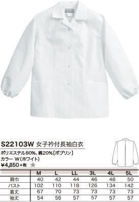 ポリエステル80%、綿20%[ポプリン]、カラー W(ホワイト)、¥4,850 +税 ★