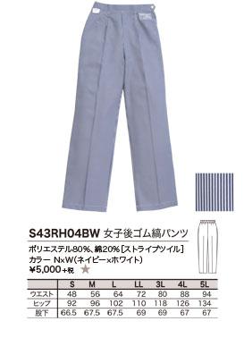 ポリエステル80%、綿20%[ストライプツイル]、カラー N×W(ネイビー×ホワイト)、¥5,000 +税 ★